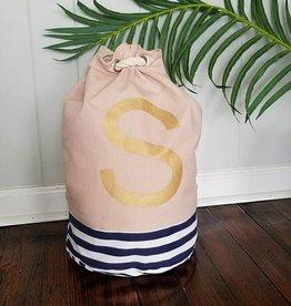 Initial Tote Bag- S
