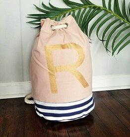 Initial Tote Bag- R