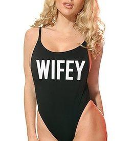 One Piece - Wifey- Black