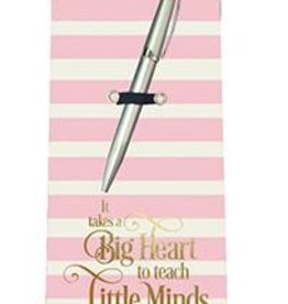Notepad and Pen Set - Big Heart