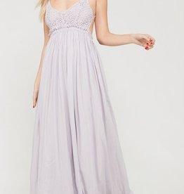 You Belong Somewhere Maxi Dress - Lavender