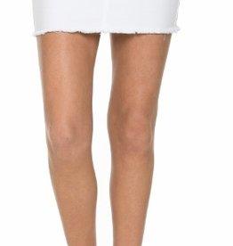 Ready For Fun Denim Skirt - White