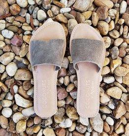 Cabana Slide Sandal- Olive