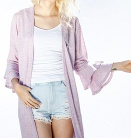 Dreaming Of Your Love Cardigan - Lavender