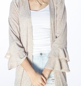 Dreaming Of Your Love Cardigan - Taupe