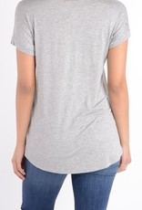 Wifey Graphic Tee-SS  Heather Grey