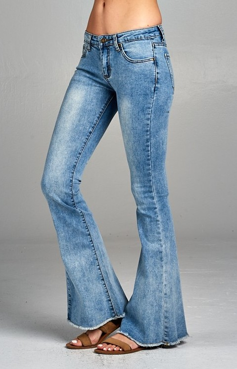 All That Flare Jeans- Denim