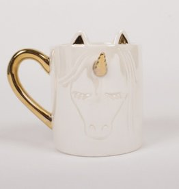 Coffee Mug -White Unicorn