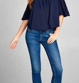 Good Days Only Top - Navy