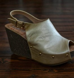 Mara 14 Wedge - Gold