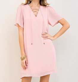 Copy of Alter Your Mood Dress- Pink