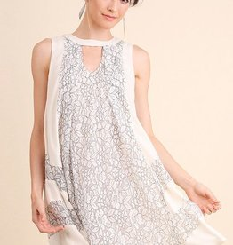 Out All Night Dress- Ivory