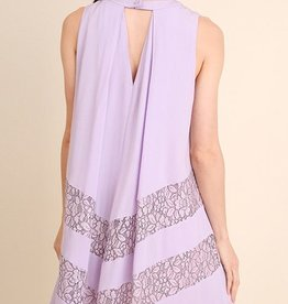 Out All Night Dress- Lavender