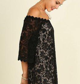 Feeling Famous Dress- Black