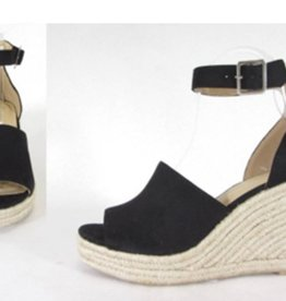 Joy Wedge- Black