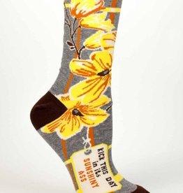 Sunshiny Ass Crew Socks
