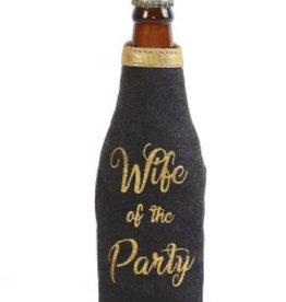 Party Wife Bottle Koozie