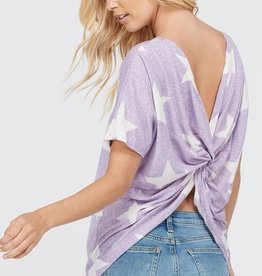 Shoot For The Stars Top - Lavender