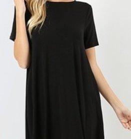 I'm So Basic Dress - Black