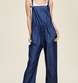 A Perfect Harmony Jumpsuit- Dark Denim