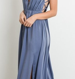 On To Another Maxi Dress - Blue