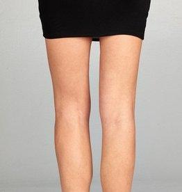 Sliding Into The Weekend Mini Skirt - Black