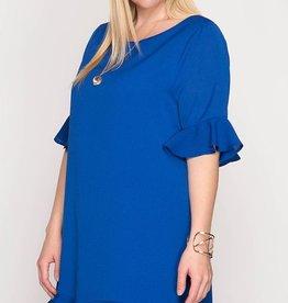 Be Productive Dress- R. Blue