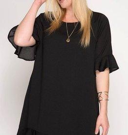 Be Productive Dress- Black
