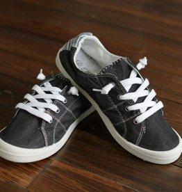 Carry On Sneaker- Black