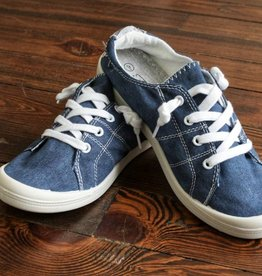 Carry On Sneaker- Navy