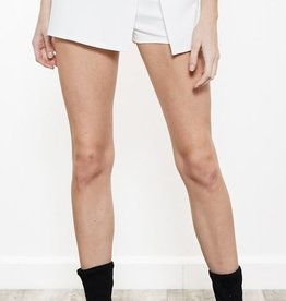 Exception To The Rules Skort - Ivory