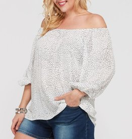 Best Of Me Top- White
