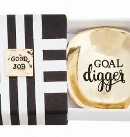 Graduation Metal Dish- Goal Digger