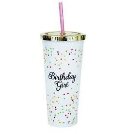 Birthday Girl Straw Tumbler