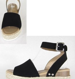 Brittany Wedges - Black