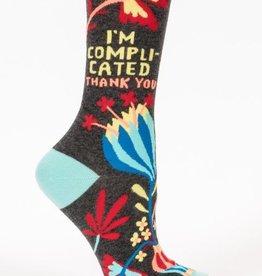 I'm Complicated Crew Socks