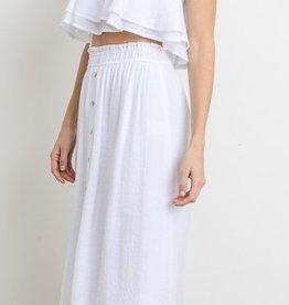 Feel The Rain Skirt - White