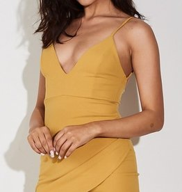 Show Me A Reason Dress - Mustard