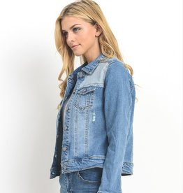 Roadtrip Ready Denim Jacket- M. Wash