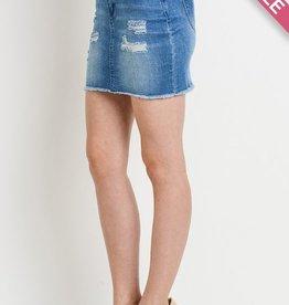 Your Best Shot Mini Skirt- M. Wash