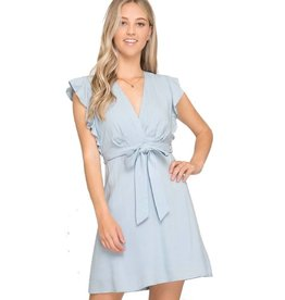 Unapologetic Love Dress- Light Blue