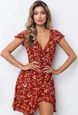 Game Over Dress- Red