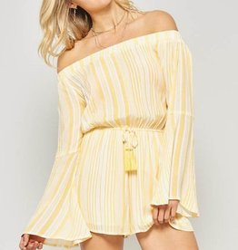 Main Squeeze Romper- Yellow