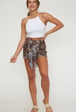 The Wild Side Shorts- Brown