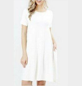 I'm So Basic Dress - Ivory
