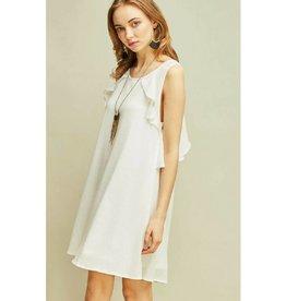 Sweetie Pie Shift Dress- White