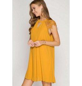 A Simple Statement Dress- Sunflower