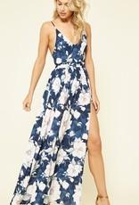Living A Dream Maxi Dress - Navy