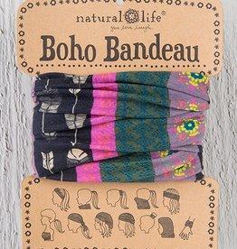 Boho Bandeau - Black Cream Arrow