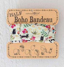 Half Bandeau Cat Cream